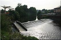 SK3991 : Hadfields Weir by Graham Hogg