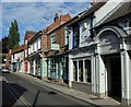 SK7053 : Shops on Queen Street, Southwell by Andrew Hill