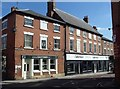 SK7053 : Junction of Church Street, Southwell by Andrew Hill