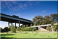 SD5307 : Viaduct crosses viaduct, Gathurst by Chris Denny