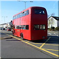 SS6592 : Preserved bus in Oystermouth Road Swansea by Jaggery