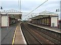 NS3230 : Troon railway station, Ayrshire by Nigel Thompson