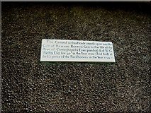 TA0432 : Plaque on Church House, Cottingham by Bill Henderson