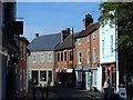 SK7054 : King Street towards Southwell town centre by Andrew Hill