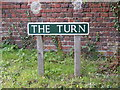 TG1821 : The Turn sign by Adrian Cable