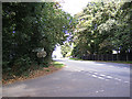 TG2022 : A140 Cromer Road, Hevingham by Geographer
