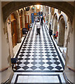 NT2573 : The Black and White Corridor by Anne Burgess
