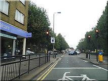 TQ2672 : Garratt Lane at the junction of Burntwood Lane by David Howard