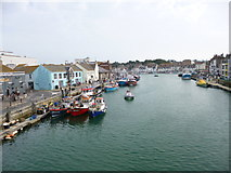 SY6778 : Weymouth, Old Harbour by Mike Faherty