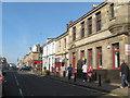 NS7954 : Wishaw town centre by James Denham