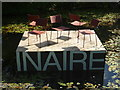 NT2475 : Royal Botanic Garden Edinburgh : Deckchairs On The Titanic Perhaps? by Richard West