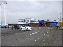 SY6878 : Weymouth, ferry terminal by Mike Faherty