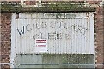 NS2776 : Glebe Sugar House Refinery Doorway Detail (Former), Ker Street, Greenock by Terry Robinson