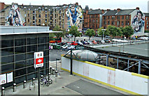 NS5566 : 2014 Commonwealth Games murals, Partick by Thomas Nugent