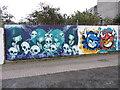 J5081 : Street art, Bangor by Gareth James