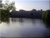 TQ1673 : Flats on Twickenham riverside by David Howard