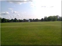 TL4359 : Churchill College, Cambridge - Cricket Ground by BatAndBall