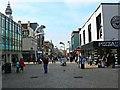 SD3036 : West along Church Street, Blackpool by Brian Robert Marshall