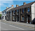 SS5997 : Row of 4 houses, West Street, Kingsbridge by Jaggery