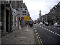 NJ9406 : Looking south down King Street, Aberdeen by Stanley Howe