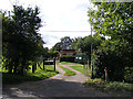 TG2504 : Entrance to Meadow Cottages by Adrian Cable