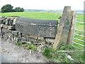 SE0920 : Estate boundary stone, Blackley Road by Humphrey Bolton