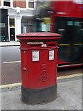 TQ3081 : London: postbox № WC1 34, Gray's Inn Road by Chris Downer