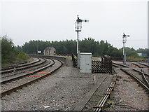 SO6302 : Lydney Junction station by M J Richardson
