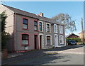 SS5899 : Row of three houses in Princess Street Gorseinon by Jaggery