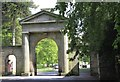 SJ7579 : The Knutsford Lodge Gateway, Tatton Park by Chris Denny
