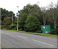 SN5900 : Gas governor alongside Coalbrook Road, Grovesend by Jaggery
