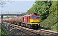 SO7717 : Railway near Churcham by Stuart Wilding