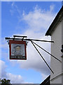 TM2899 : Kings Head Public House sign by Adrian Cable