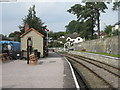 SO6107 : Parkend Station on the Dean Forest Railway by M J Richardson