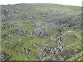 NN1970 : Wild corrie below Aonach Beag by Peter S