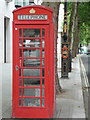 TQ3080 : London: red phone box, 143 Strand by Chris Downer