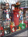 TQ3080 : London: a postbox shop-window display by Chris Downer