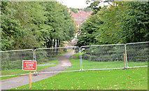 J3673 : New bridge site, Orangefield Park, Belfast (2) by Albert Bridge