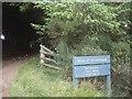 NJ4628 : Lane junction at Milton of Lesmore by Stanley Howe
