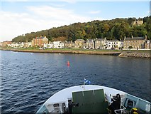 NS0964 : Rothesay sea front by Richard Webb