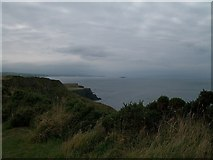 C9444 : View west along the cliff-tops above the Giant's Causeway by Eric Jones
