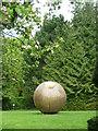 O0936 : Sculpture in bronze, Farmleigh gardens by Carroll Pierce