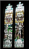 TQ1711 : Stained glass window, St. Andrew's, Steyning by nick macneill