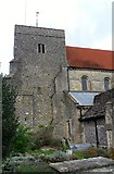 TQ1711 : Tower, St. Andrew's, Steyning by nick macneill