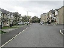 SE0824 : Hastings Way - looking towards Free School Lane by Betty Longbottom