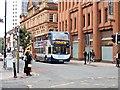SJ8398 : Bridge Street (A34), Manchester by David Dixon
