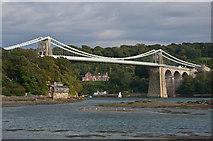 SH5571 : Menai Suspension Bridge by Ian Capper