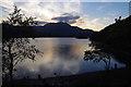 NN5206 : Loch Achray at dusk by Ian Taylor