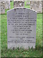 TL7278 : Grave Stone by Keith Evans