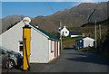 NG9520 : Former petrol station Carn-gorm by Tom Richardson